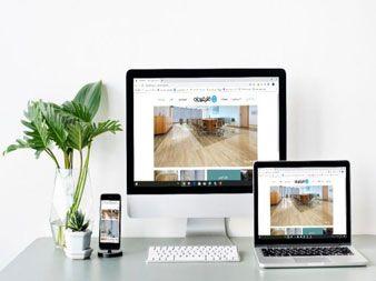 نمونه طراحی سایت ویوان