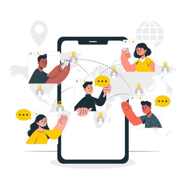 تاثیر شبکه های اجتماعی در کسب و کار انلاین